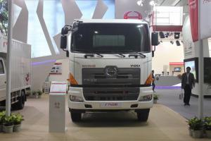 广汽日野 700系列重卡 350马力 6X4 载货车(底盘)(YC1250FS2PK4)