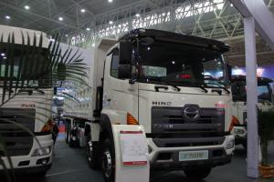 广汽日野 700系列重卡 350马力 8X4自卸车(YC3310FY2PY4)