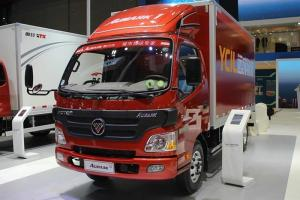 福田欧马可1系 150马力 4X2 4.165米单排厢式轻卡(BJ5049V8BD6-FB)