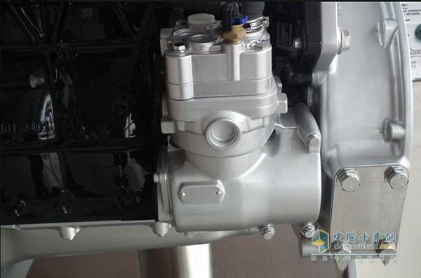 聚强单相打气泵电容盒电路接线图