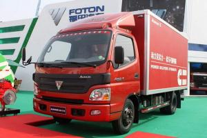 福田欧马可3系 超能版 150马力 4X2 4.165米单排厢式轻卡(BJ5049V8BD6-FA)