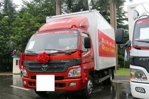 福田欧马可3系 超值版 118马力 4X2 4.165米单排厢式轻卡(BJ5049XXY-F3)