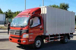福田欧马可3系 标载版 143马力 4X2 4.165米单排厢式轻卡(BJ5049V8BEA-FA)