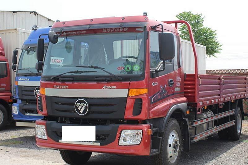 福田欧马可5系 中卡 170马力 4X2 栏板载货车(BJ1139VJPEK-F1)