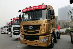 华菱 汉马H6重卡 375马力 6X2 牵引车(HN4252B31B5M4)