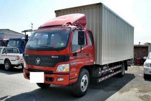福田欧马可5系 中卡 重载版 170马力 4X2 6.75米排半厢式载货车(BJ5169XXY-F2)