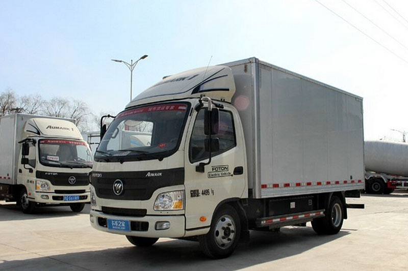 福田欧马可BEV 82马力 4X2 纯电动轻卡(BJ5041XXYEV)