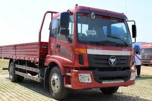 福田欧马可5系 中卡 高效版 170马力 4X2 6.75米排半栏板载货车(BJ1159VKPEK-FB)