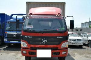 福田欧马可5系 中卡 标载版 170马力 4X2 7.75米排半厢式载货车(BJ5139XXY-A2)
