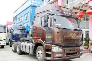一汽解放 J6P重卡 460马力 6X2牵引车(自动挡)(CA4250P66K24T2A1E4)