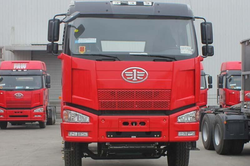 一汽解放 J6P重卡 390马力 8X4自卸车底盘(CA3310P66K24L7BT4E4)