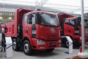 一汽解放 J6M准重卡 2013款 280马力 8X4自卸车(CA3310P63K2L2T4E4)