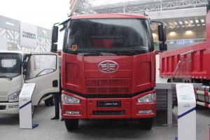 一汽解放 J6M准重卡 320马力 8X4自卸车底盘(CA3310P63K2L1BT4E4)