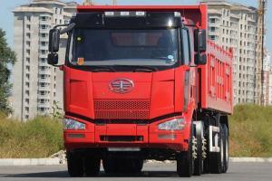 一汽解放 J6M准重卡 290马力 8X4 LNG自卸车底盘(CA3310P63L2BT4E2M4)