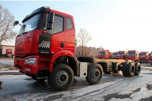 一汽解放 J6M准重卡 280马力 8X4自卸车(CA3310P63K1L2T4E4)