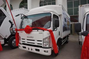 庆铃五十铃汽车 K600 三人座大容量厢车)(货箱长4.17米) 120马力