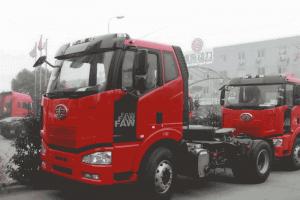 一汽解放 J6M准重卡 2013款 320马力 4X2牵引车(CA4180P63K2AXE4)