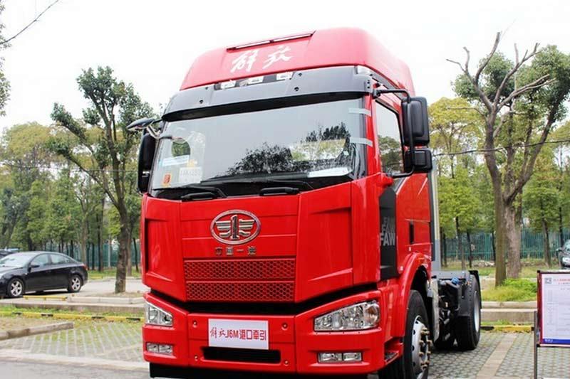 一汽解放 J6M准重卡 280马力 4X2牵引车(CA4160P63K1XE4)