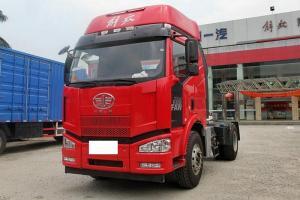 一汽解放 J6M准重卡 350马力 4X2牵引车(CA4180P63K2AE4)
