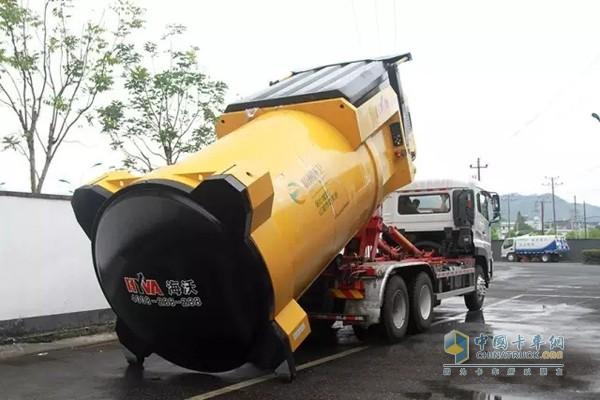 为g20采购的垃圾桶清洗车