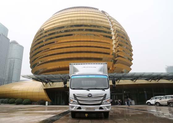 欧马可G20国宾保障车