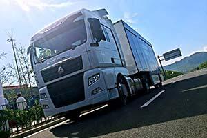 中国重汽智能卡车