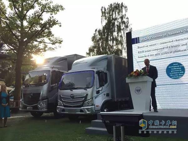 【欧马可超级卡车德研首席专家Markus讲解欧马可超级卡车】