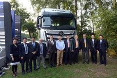 欧曼EST超级卡车德国汉诺威全球震撼上市