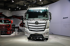 见证中国力量 欧曼EST超级卡车IAA2016引围观