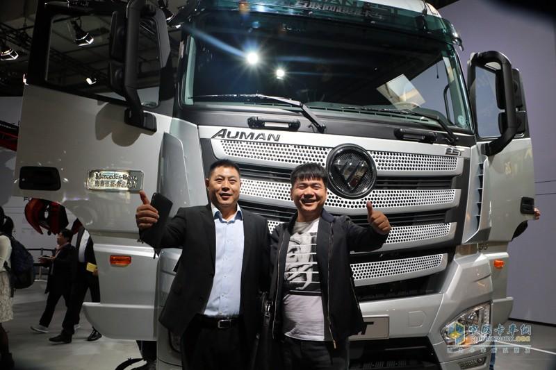 见证中国力量 欧曼est超级卡车iaa2016引围观图片