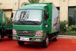 开瑞 绿卡C 中体 城配版 110马力 4.15米单排厢式轻卡