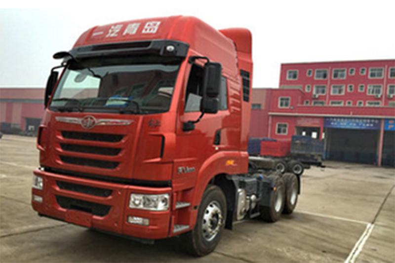 青岛解放 天V重卡 430马力 6X4牵引车(CA4259P2K15T1E4A80)