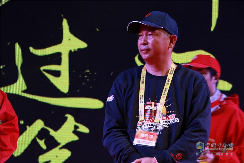 第二季东风天龙中国卡车驾驶员大赛冠军彭剑