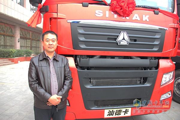 河南华镒汽车贸易有限公司的总经理丁存华