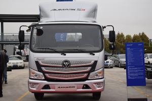 福田欧马可超级卡S3 156马力 箱式载货车