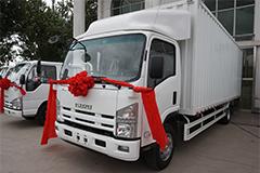 庆铃五十铃汽车 700P 气刹(油刹)厢式轻卡 4175mm轴距