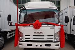 庆铃五十铃汽车 K600 三人座大容量厢车(货箱长4.17米) 120马