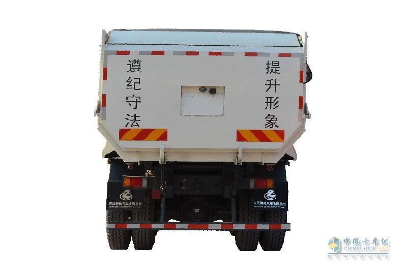乘龙M5 6X4智能渣土车