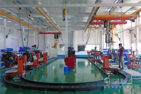 潍柴海外工厂
