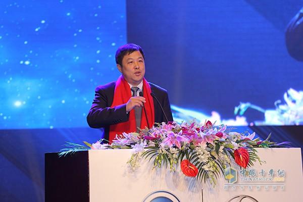 上汽集团副总裁蓝青松