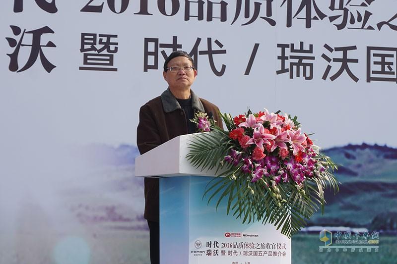 上海物流协会秘书长-张悦来