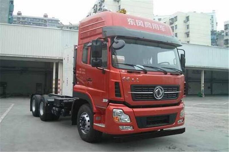 东风商用车 天龙重卡 375马力 6X4燃气危化牵引车(DFH4250A3)