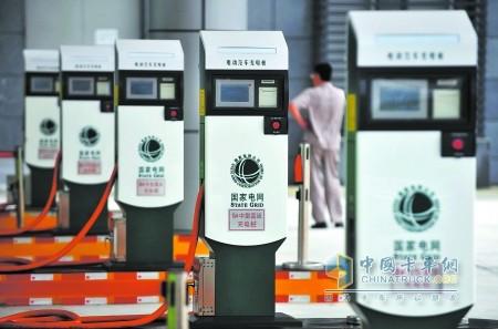满足至少约12万辆电动汽车的充电需求