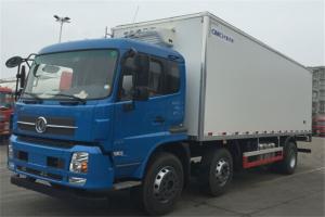 东风商用车 天锦 245马力 6×2 平顶排半8.6米冷藏车(DFL5250XLCBX5A)