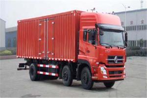 东风商用车 天龙 245马力 6×2 高地板9.6米厢式载货车(DFL5253XXYAX1B)
