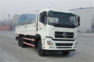 东风商用车 天龙 270马力 6×2 平顶高地板9.6米载货车(DFL1250A12)
