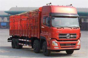 东风商用车 天龙 280马力 8×4 高顶高地板9.6米仓栅车(DFL5311CCQA10)