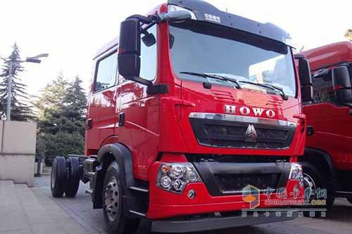 中国重汽泰安通过消防车3c认证