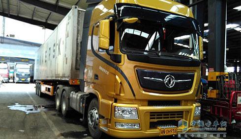 老司机的选择 东风天龙旗舰480马力牵引车-卡车新闻 货车行业新闻资图片