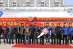瑞江铝合金液罐车批量交付豫鄂川陕地区老客户